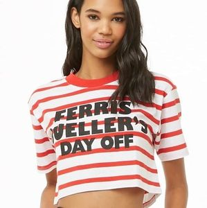 Forever 21 Tops - Ferris Bueller's Day Off Top